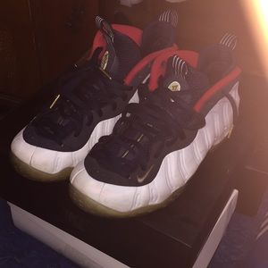 """Air Foamposite One """"Olympic"""""""